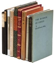 Twelve volumes of poetry by Edna St. Vincent Millay