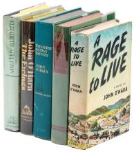 Five First Editions by John O'Hara