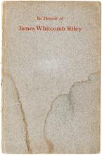In Honor of James Whitcomb Riley