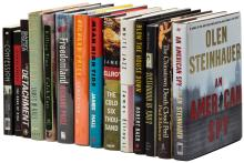Fourteen suspense novels by various authors