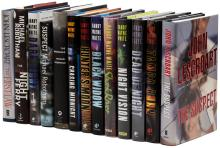 Thirteen suspense novels by Randy Wayne White, Michael Robotham, and John Lescroart