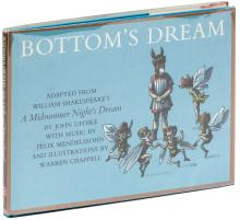 Bottom's Dream. Adapted from William Shakespeare's A Midsummer Night's Dream