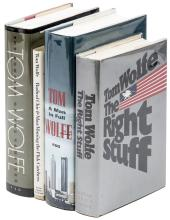 Four Volumes by Tom Wolfe