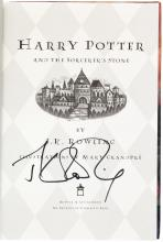 Harry Potter and the Sorcerer's Stone - later printing, signed by the author