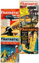 Thirty-one issues of Fantastic Stories