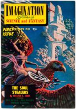 Forty-four issues of Imagination Stories of Science and Fantasy