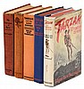 Five first editions of books by Edgar Rice Burroughs