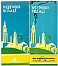 Two investment brochures for land in the Westwood Village, a suburb of Los Angeles