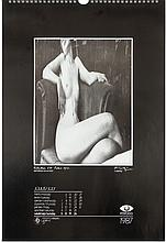 Rare 1987 Kertesz Hungarian Photo Calendar