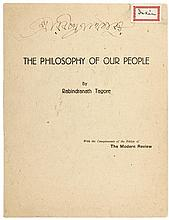 The Philosophy of our People: [Presidential Address at the Indian Philosophical Congress]