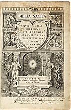 Biblia Sacra: Quid in hac editione a theologis lovaniensibus praestitum sit, eorum præfatio indicat