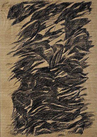 NIKIAS, Paisagem Interna II, Dim.: 98 x 70 cm.