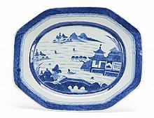 Grande travessa em porcelna chinesa dita