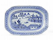 Pequena travessa em porcelana chinesa CI