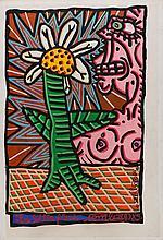 COMBAS, tela s/tela, 108 x 74 cm