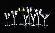 Parte de serviço de copos em cristal lapidado(126)