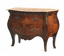 Louis XV style commode, with two large drawers