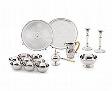 French silver milk jug, Tetard Frères