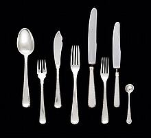 Part of a silver cutlery set, 20th century (54)