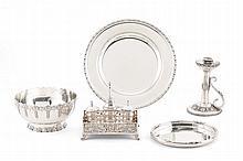 Serving plate in silver, Leitão & Irmão