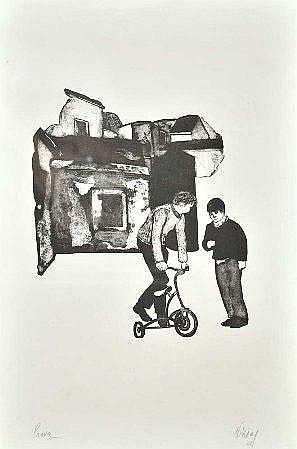 Nikias, gravura PA,55,5 x 36 cm. NIKIAS SKAPINAKIS