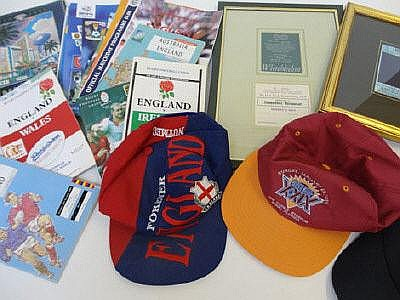 Collection of assorted football/rugby programmes,
