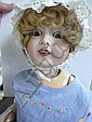 A 'Cherie' fully jointed bisque headed doll with