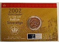 ROYAL MINT 2002 BULLION SOVEREIGN