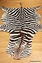 A ZEBRA SKIN Length: 267cm (including tail) Width: