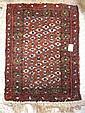 Small Wool Hand-woven Rug: