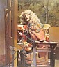 ROBERT LENKIEWICZ 'Self Portrait At Easel'