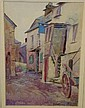 F.BESWICK 'The 3 Pilchards Inn, Polperro' C19th