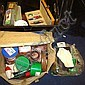 Large collection of fishing tackle inc. landing