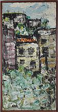 MACMILLAN UNTITLED Oil on canvas: 24 x 12 in.