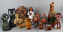 COLLECTION OF MEXICAN CERAMIC FIGURES