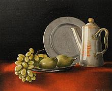 EDWARD C. PLYLER and MARGARET MOUNTZ DALE PLYLER (AMERICAN, 1925-2002), DALE (AMERICAN, 1822-1920) THREE STILL LIFES and CROCUSES; G...