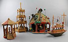A COLLECTION OF MEXICAN FOLK ART TOY MODELS