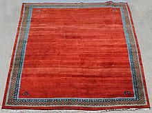 TIBET WOOL RUG WITH BORDER DESIGN