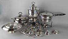 ASSORTED COLLECTION OF SILVERPLATED ITEMS