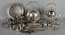 QUANTITY OF SILVERPLATE AND OTHER WARES
