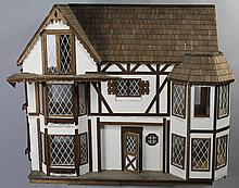 CONTEMPORARY TUDOR DESIGN DOLLHOUSE