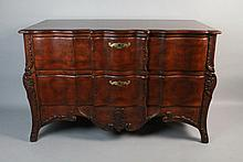 JOHN WIDDICOMB GRAND RAPIDS MICHIGAN CONTINENTAL STYLE CHEST OF DRAWERS