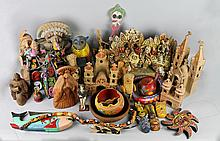 COLLECTION OF MEXICAN FOLK ART