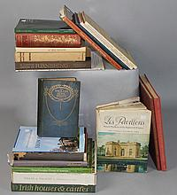 A COLLECTION OF HISTORIC HOUSE BOOKS, MUSEUMS, ARCHITECTURE, FURNITURE DESIGN, HISTORY, AND RELATED TOPICS
