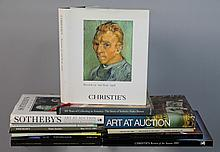 COLLECTION OF AUCTION HOUSE BOOKS, ART BOOKS, ASIAN ART BOOKS, AMERICAN FURNITURE, INTERIOR DESIGN BOOKS, ALEXANDRIA, VA AND VIRGINI...
