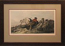 RICHARD ANSDELL (BRITISH, 1815-1885) THREE HUNTING PRINTS