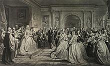 ALEXANDER HAY RITCHIE (SCOTTISH, 1822-1895) REPUBLICAN COURT/ LADY WASHINGTON'S RECEPTION DAY along with KEY TO IDENTIFY FIGURES Eng...