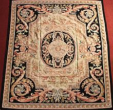 CHINESE WOOL AUBUSSON