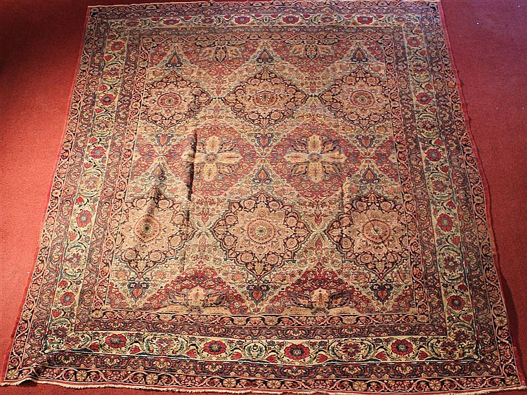 PERSIAN KIRMAN RUG