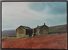 PETER BROOK (BRITISH, 1927-2009) APRIL SHOWER Oil on canvas: 20 x 28 1/2 in.